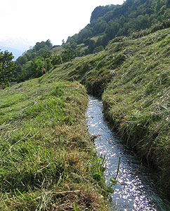 Water Channels - The traditional irrigation culture using water ...